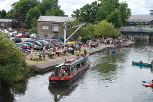 Jubilee at the Newbury Waterways Festival